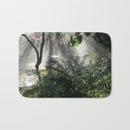 A whisper to the silent earth Bath Mat