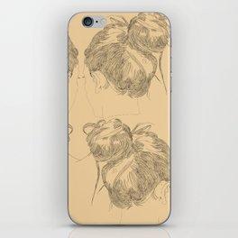 Chignon iPhone Skin