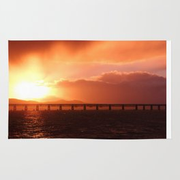Stormy Sunset Rug
