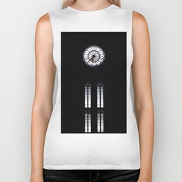 clock,time,hours Biker Tank