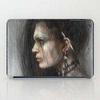 tribal iPad Cases featuring Tribal by Justin Gedak