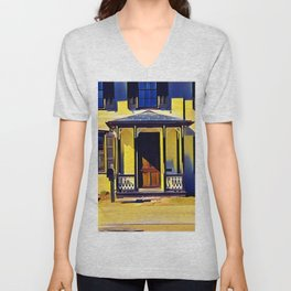 Victorian Porch Unisex V-Neck