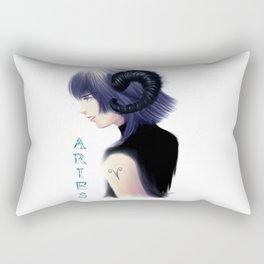 Aries Sign - Zodiac series by OccultArt Rectangular Pillow