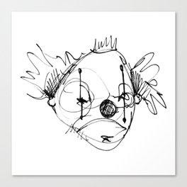 Clowns in Crowns #9 Canvas Print
