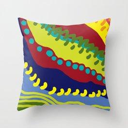 Colour Avalanche Throw Pillow