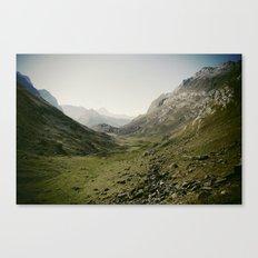 Just silence Canvas Print