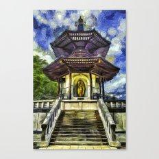 The Pagoda Vincent Van Gogh Canvas Print