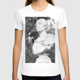 female statue T-shirt