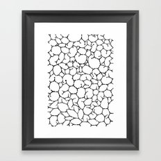 Pattern 001 Framed Art Print