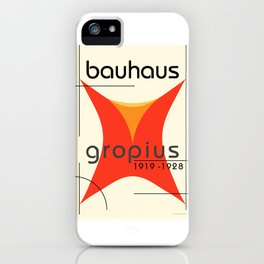 Bauhaus Poster II iPhone Case