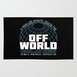 Space Colony Rug