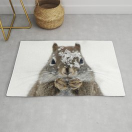 Squirrel! Rug