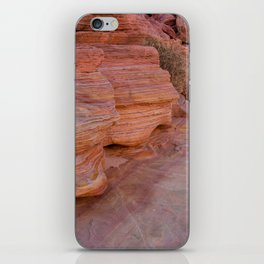 Colorful Sandstone, Valley of Fire - II iPhone Skin