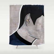 Humans make illogical decisions Shower Curtain