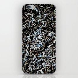 Confetti in space iPhone Skin