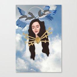 Angelic Del Rey Canvas Print