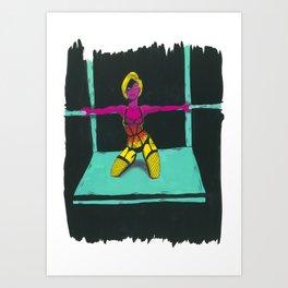 Jelena Art Print