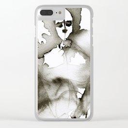 Porous Physique Clear iPhone Case