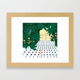 the Discreet Creatures Framed Art Print