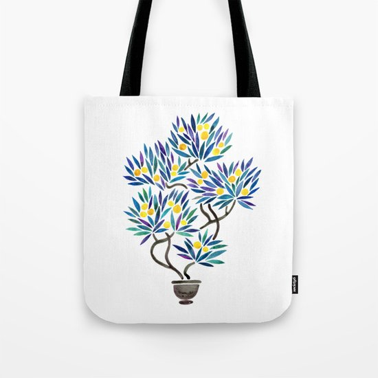 Bonsai Fruit Tree – Lemons Tote Bag