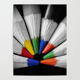 Colour Your Walls Poster