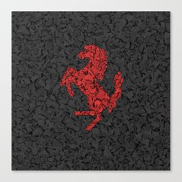 Homage to Ferrari Canvas Print