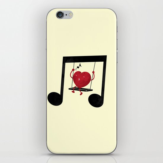 swing a LOVE song iPhone & iPod Skin