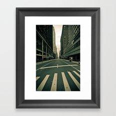 NY ... abandoned  Framed Art Print