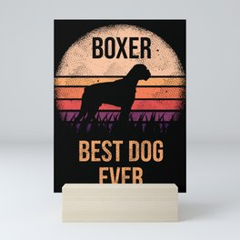 Boxer graphic For Dog Lovers Cute Dog Mini Art Print