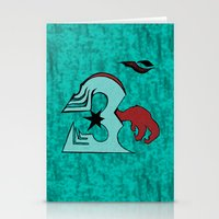 ohm Stationery Cards featuring inFamous ohm by iRa.