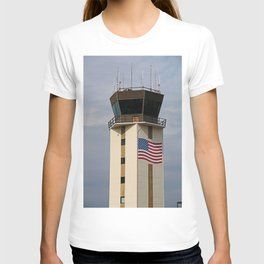 Naples Airport Control Tower T-shirt