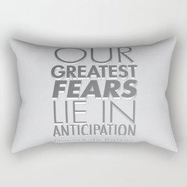 Anticipation Rectangular Pillow