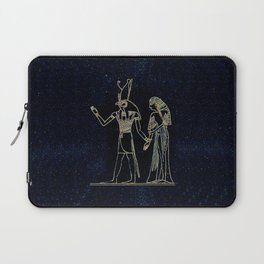 Horus Detail - Weighing of the Heart Laptop Sleeve