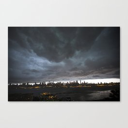 New York Before the Storm Canvas Print