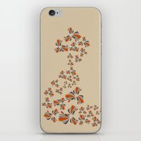 wind iPhone & iPod Skins featuring Wind by LindsayMichelle
