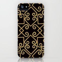 Hmong inspired art iPhone Case
