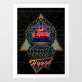 Hygge Retro Art Print