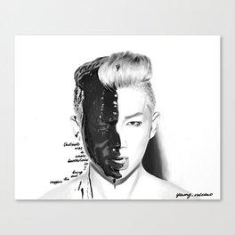 Rap Monster Canvas Print