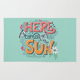 Here Comes The Sun 001 Rug