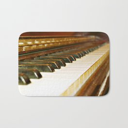 That Old Piano  Bath Mat