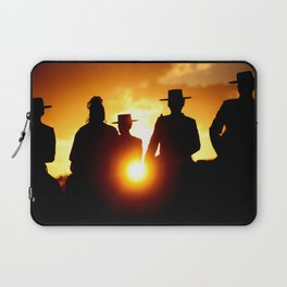 Golden pilgrims Laptop Sleeve