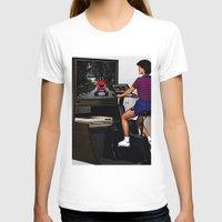 mario kart T-shirts featuring Retro Mario Kart by Woah Jonny