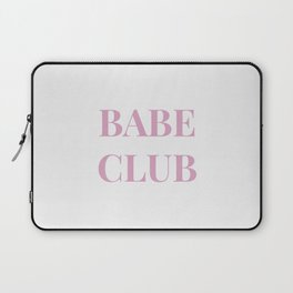 Babeclub white Laptop Sleeve