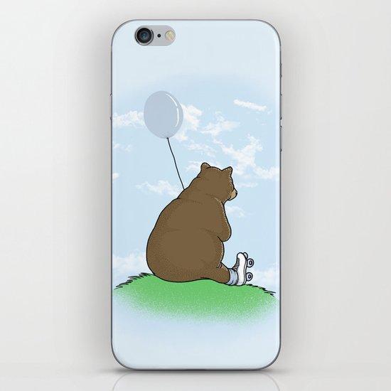 Cloudy the Bear iPhone Skin