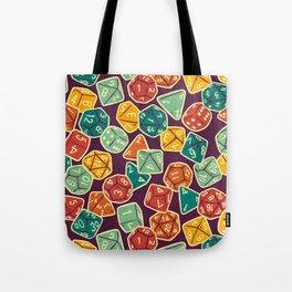 Dice Addict Tote Bag