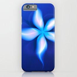 La Fleur Magique de la Sorcière Fractal iPhone Case