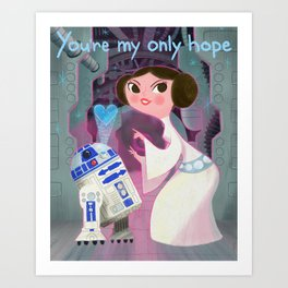 My Only Hope. Art Print