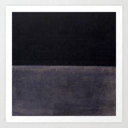Untitled (Black on Grey) by Mark Rothko HD Art Print