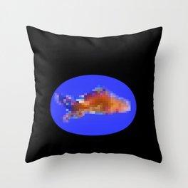 Censored Goldfish?   Throw Pillow