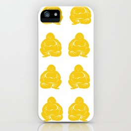 Jonquil Asian Moods Buddha Boys iPhone Case